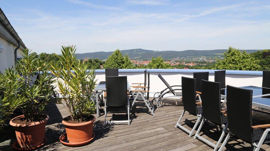 BIZ Saalfeld Haus Außenbereich Terrasse Freizeit