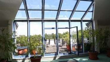 BIZ Saalfeld Haus Innenansicht Terrasse
